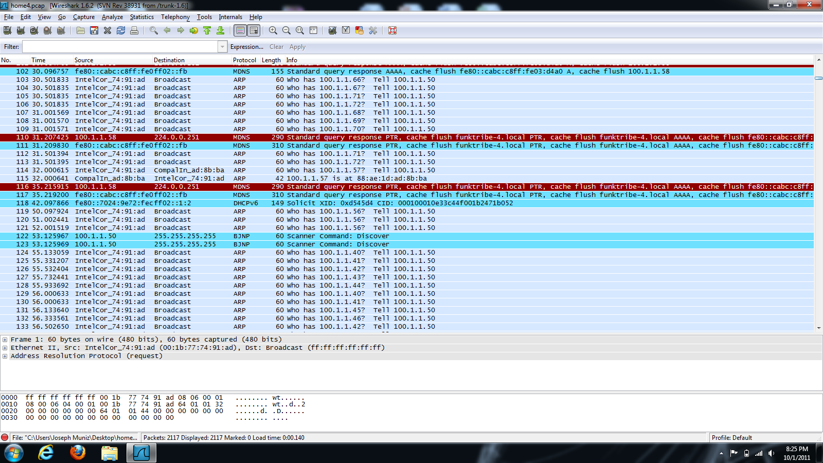 Wireshark and NetWitness