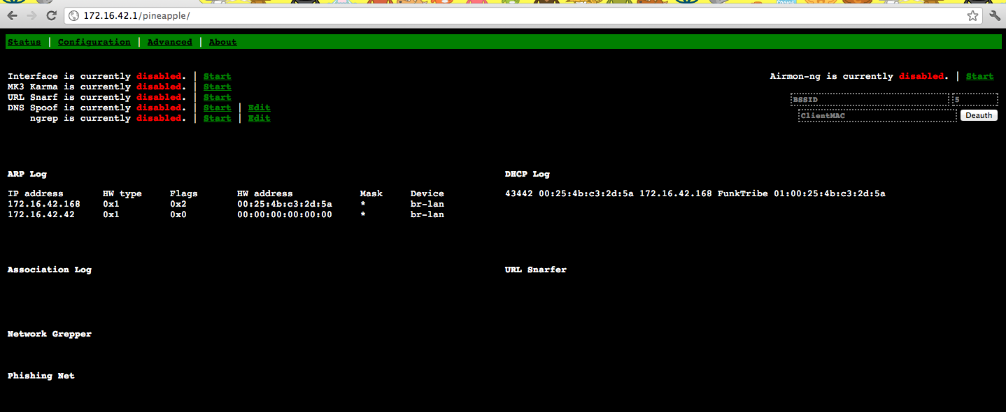 Screen Shot 2012 02 07 at 11.41.00 PM Penetration Testing Tools At Your Next Security Conference – WIFI Pineapple Mark III