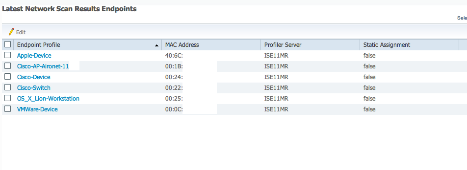 shot2 Cisco Identity Services Engine ISE 1.1 Profiling   Identify And Monitor What Is On Your Network