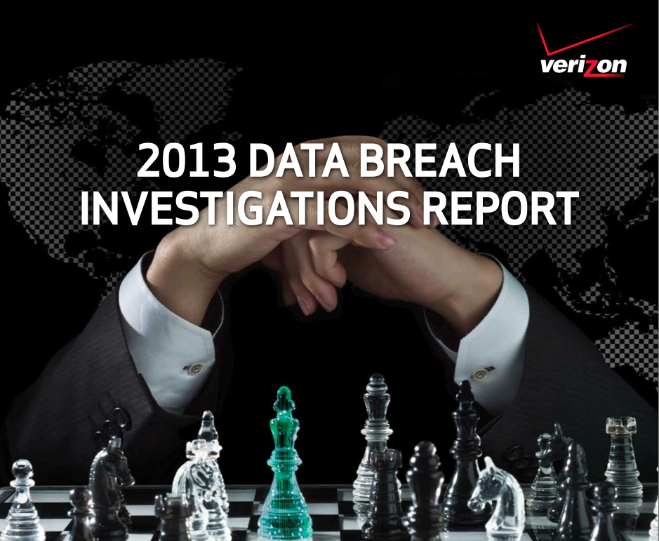 VerizonCover1 Verizon's 2013 Data Breach Investigations Report