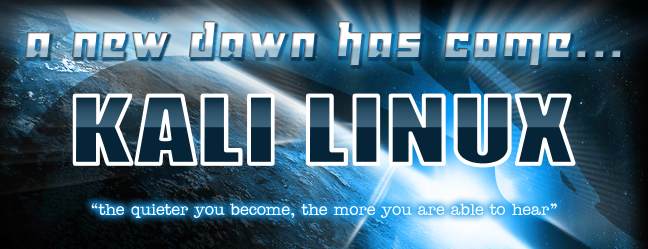 kali new dawn blog Kali Linux – The next generation for BackTrack