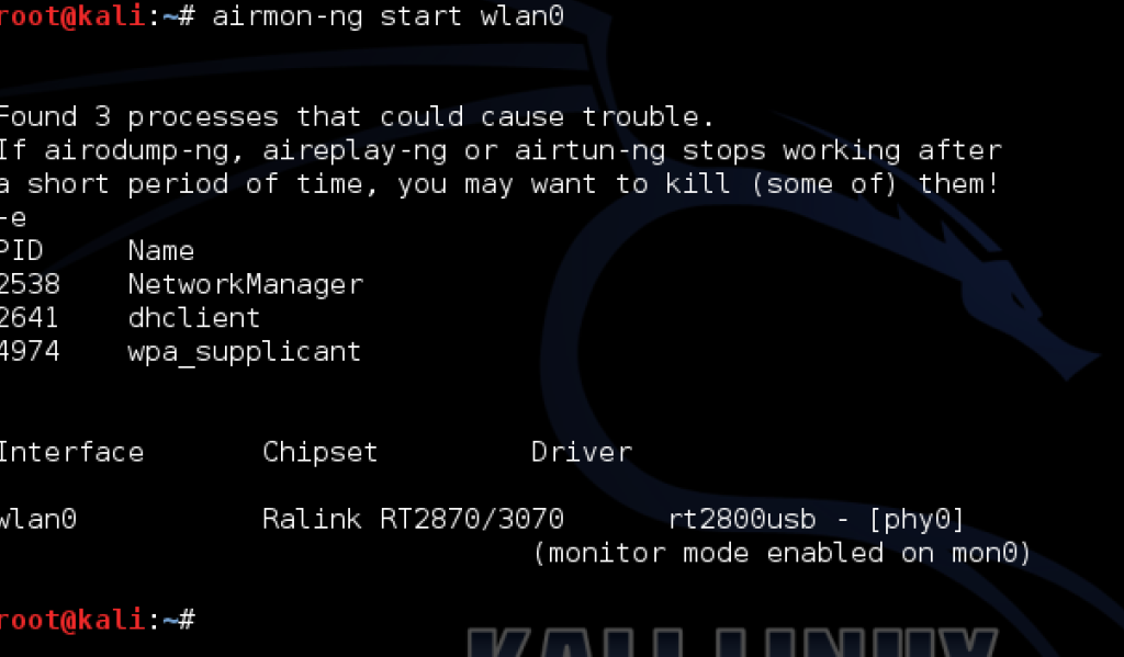 Breaking WPA2-PSK with Kali Linux : wireless  – The Security Blogger