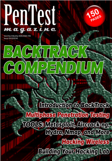 pentestmagimage My Article in PenTest Magazine   Backtrack Compendium July 2013