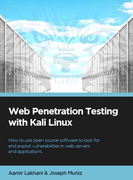 Web Penetration book cover - aLakhani v1