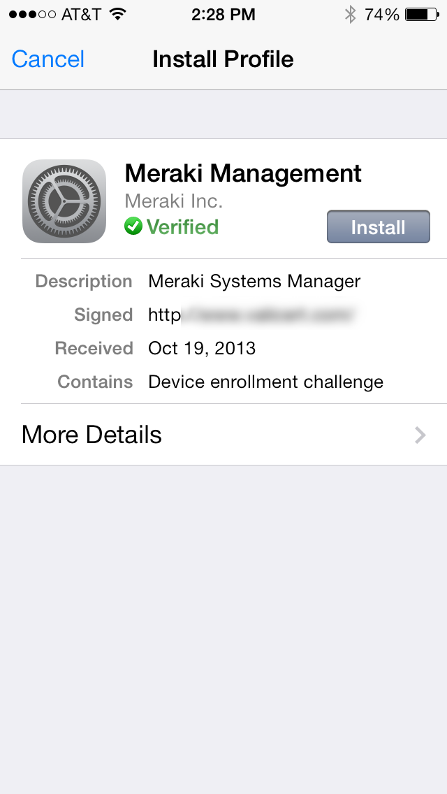 photo 2 Meraki Free MDM Mobile Device Management – Secure and Monitor a tablet or mobile phone