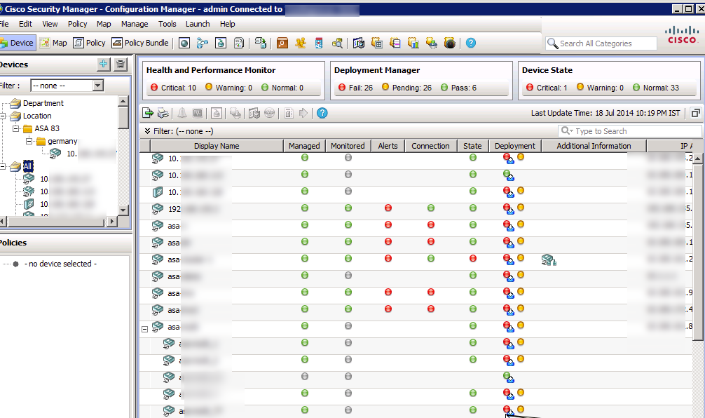 Cisco Security Manager CSM Overview – 4 6 SP1 Update Available – The