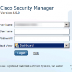 Cisco Security Manager CSM Overview – 4.6 SP1 Update Available