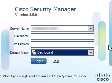 CSM 11 Cisco Security Manager CSM Overview   4.6 SP1 Update Available