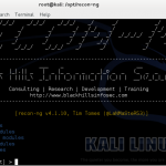 Recon-ng – advanced reconnaissance framework