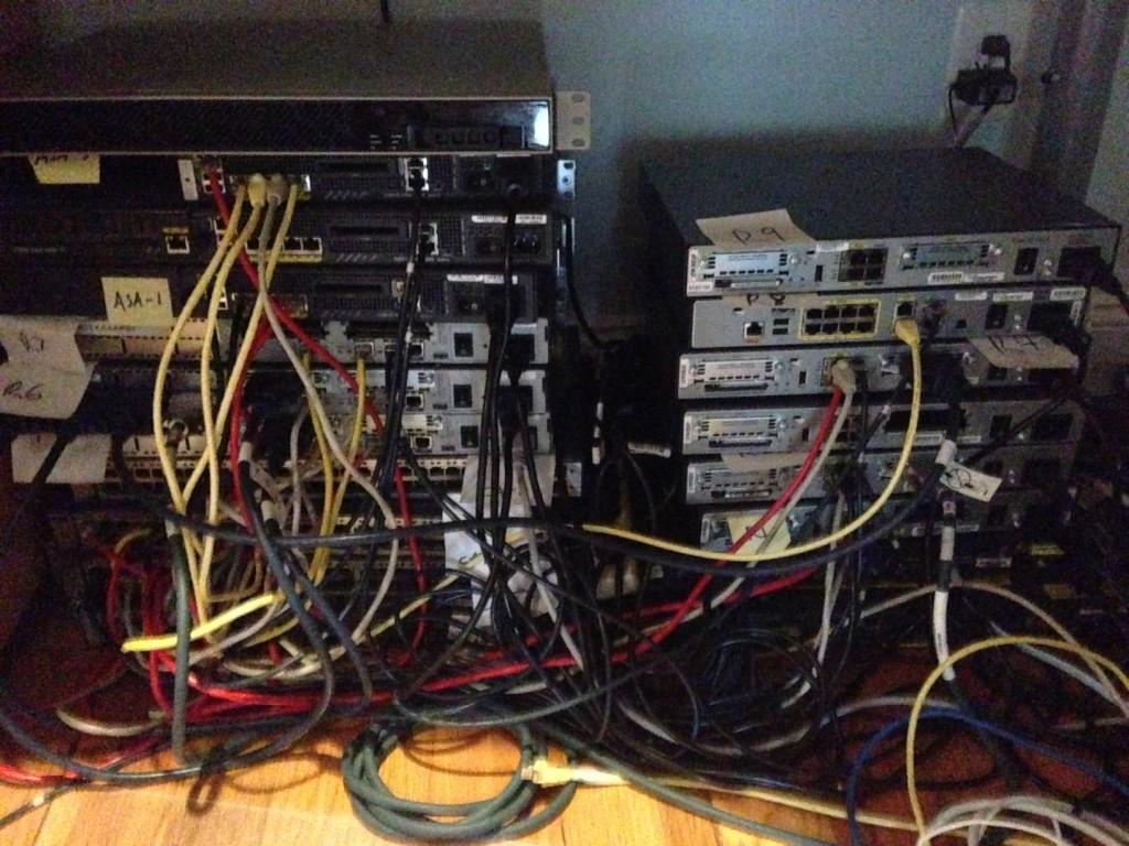 Fun building a CCIE Security home Lab ...