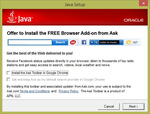 java-adware