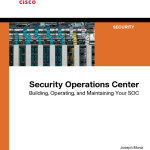Cisco Press  Security Operations Center – Save 35%