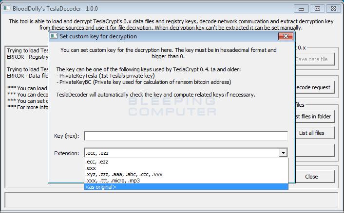 tesladecoder-set-key