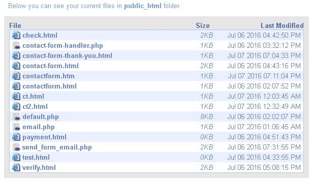 webserver-file-listing